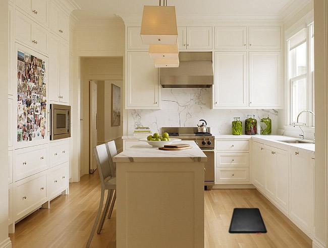 Kitchen mats for sore feet kitchen rugs kitchen floor for Benjamin moore paint store san francisco